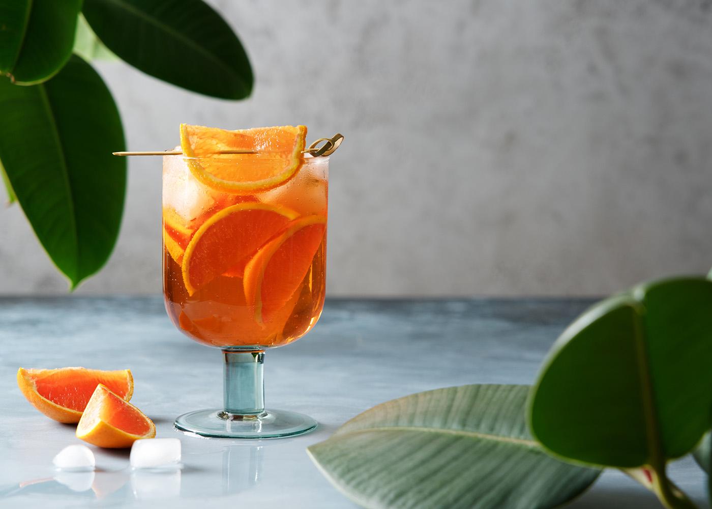 Spritz Cocktail Dolce Havana em copo médio