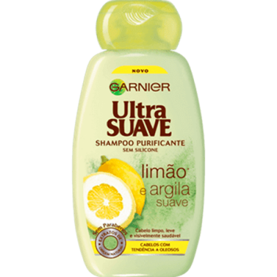 champô purificante limão e argila