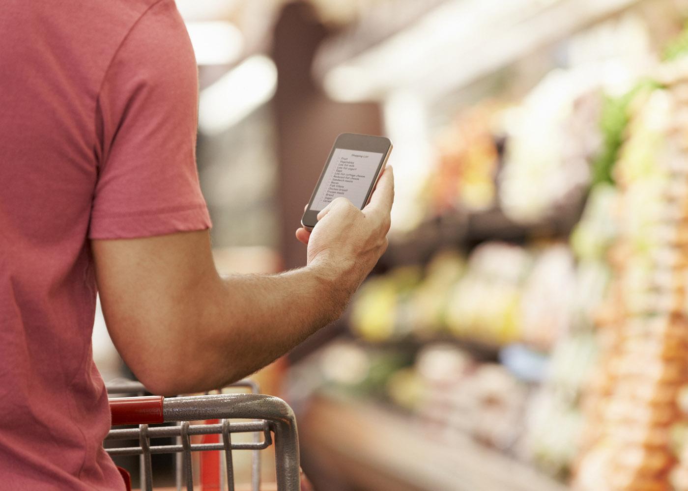 aplicação lista de compras