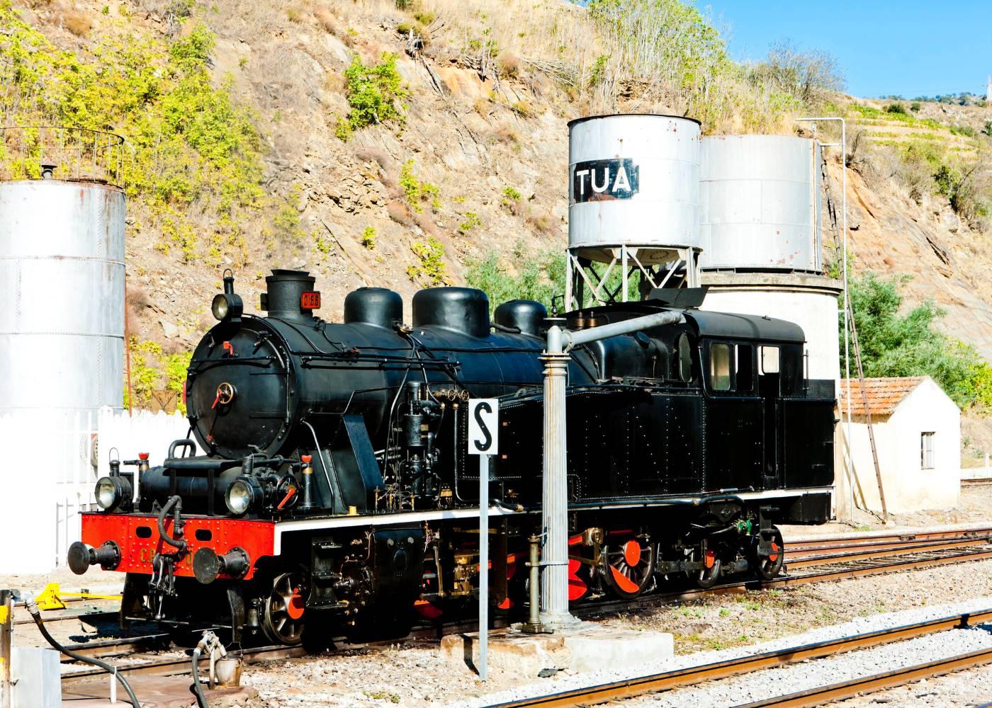 locomotiva no Tua