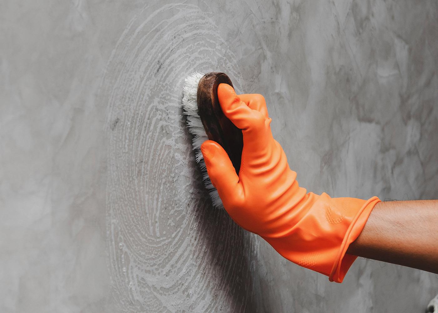 como limpar paredes