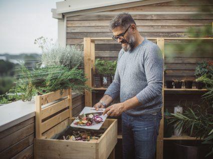 compostagem em casa