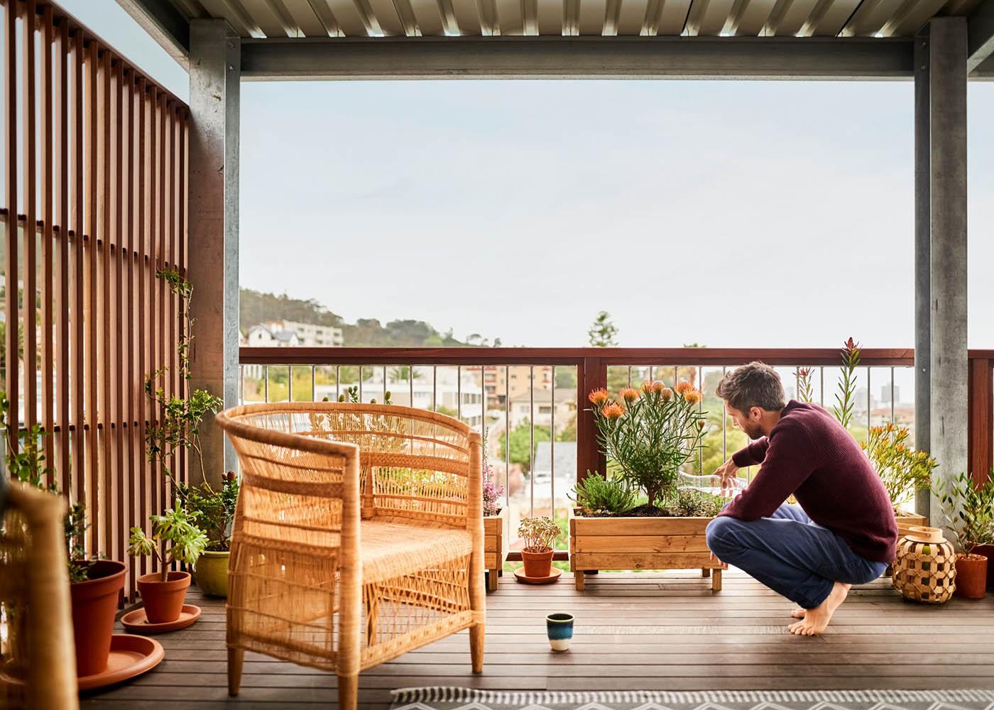 decorar terraço em madeira
