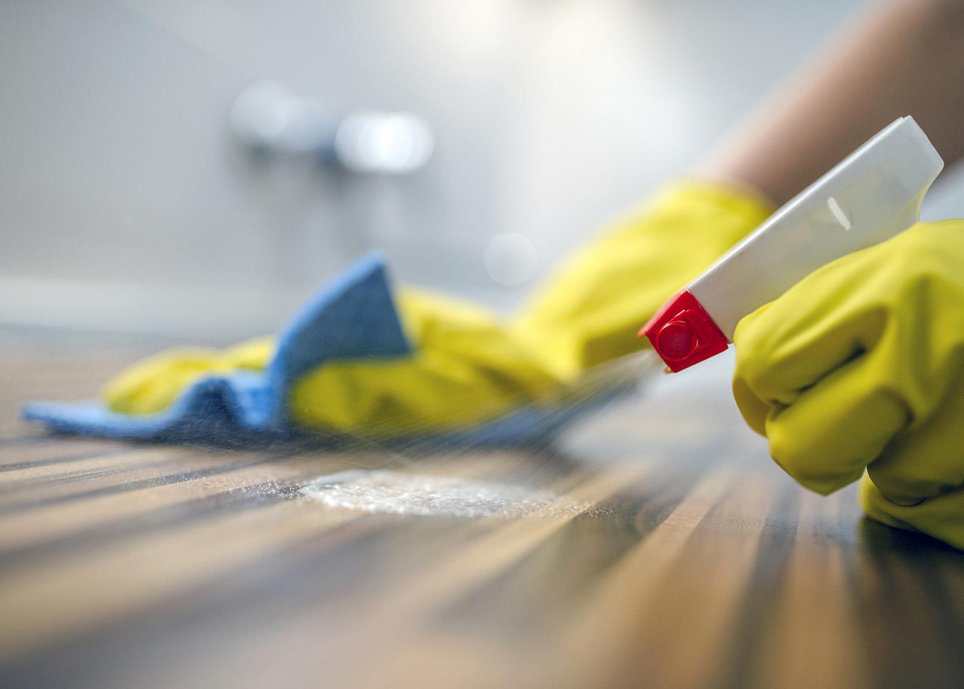 limpar madeira