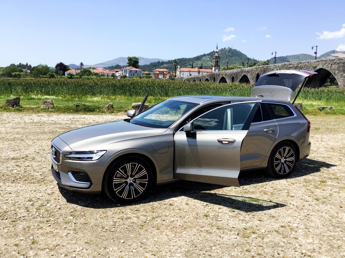 Volvo V60 em Ponte de Lima