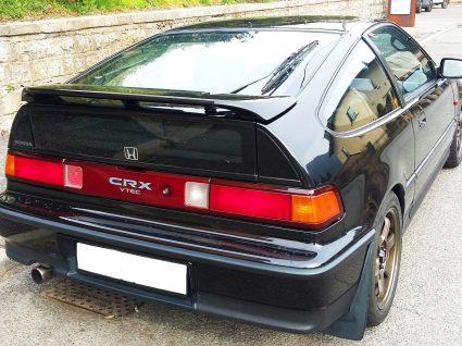 Honda CRX preto