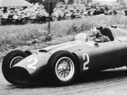 Juan Manuel Fangio em Ferrari