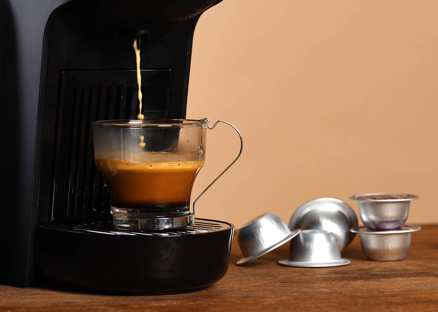 máquina café cápsulas