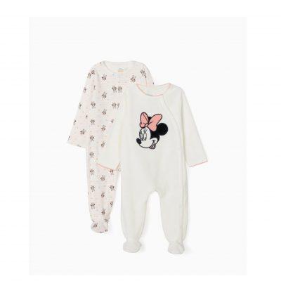2 pijamas para bebé menina