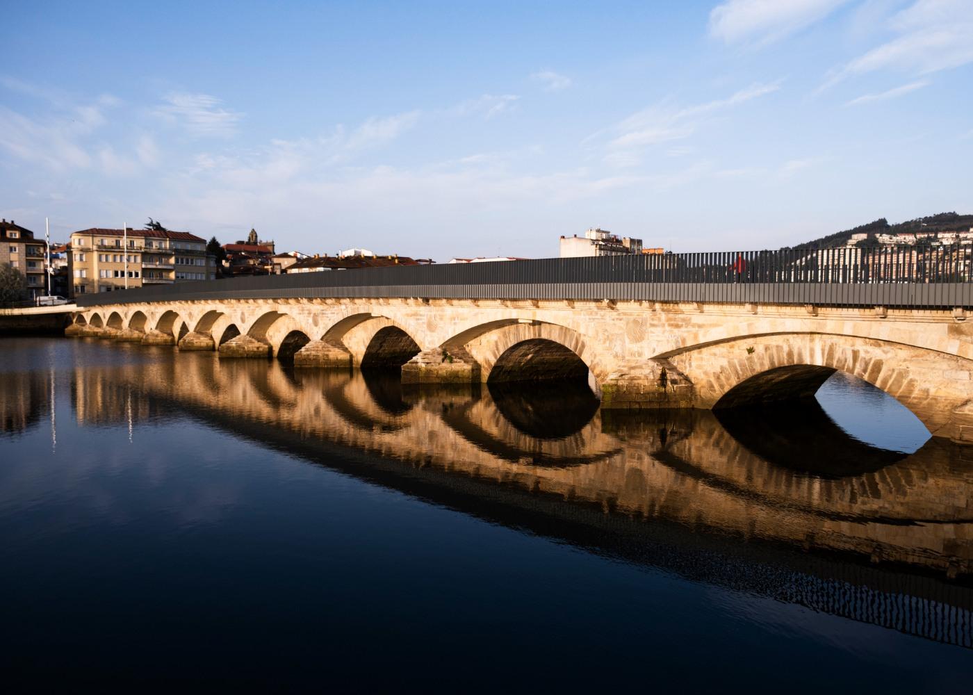 Ponte do Burgo em Pontevedra