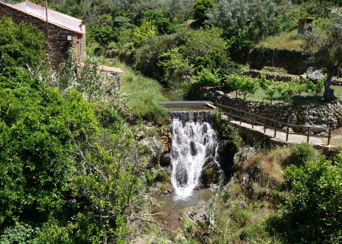 Cascata em Vila de Rei