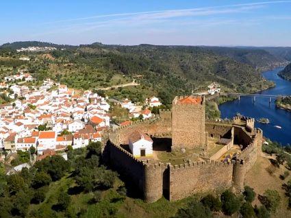 Vista do Castelo de Belver
