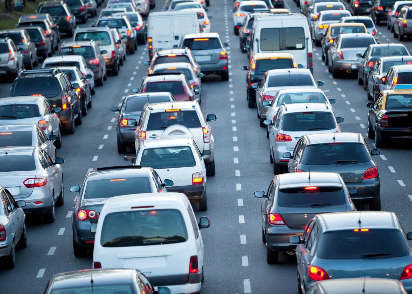 Engarrafamento de trânsito