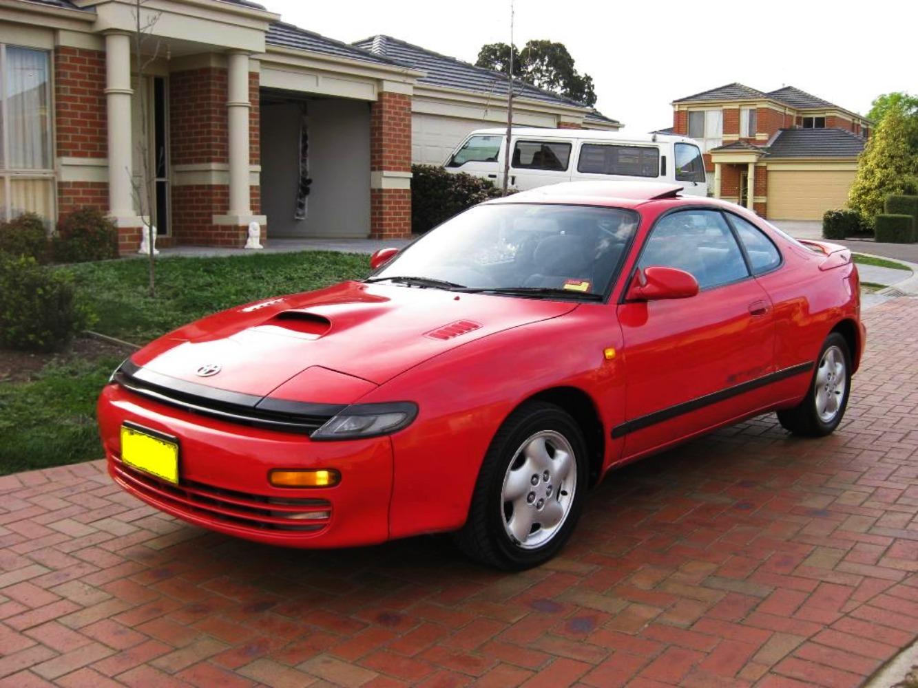 Toyota Celica vermelho