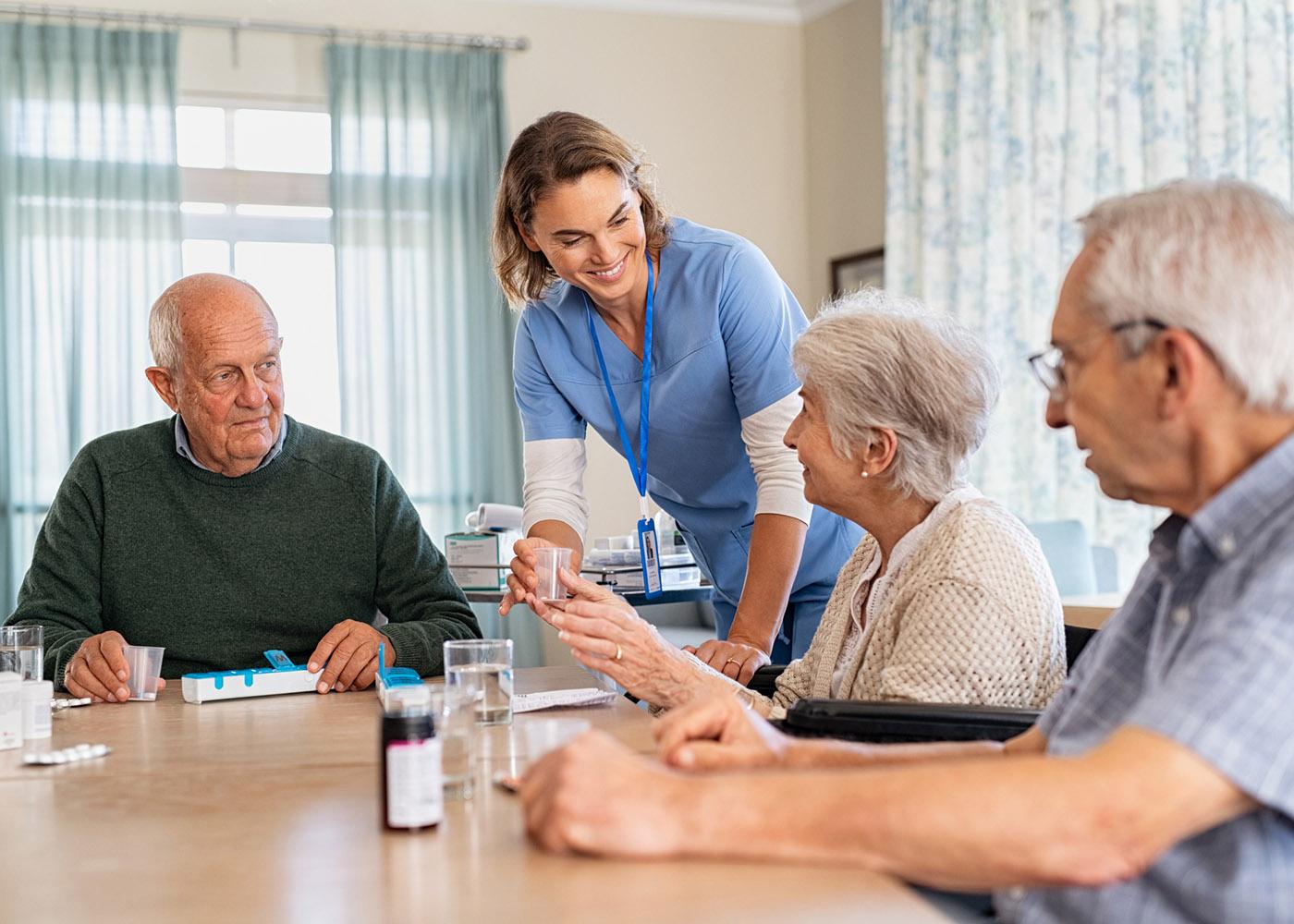 convívio lar de idosos