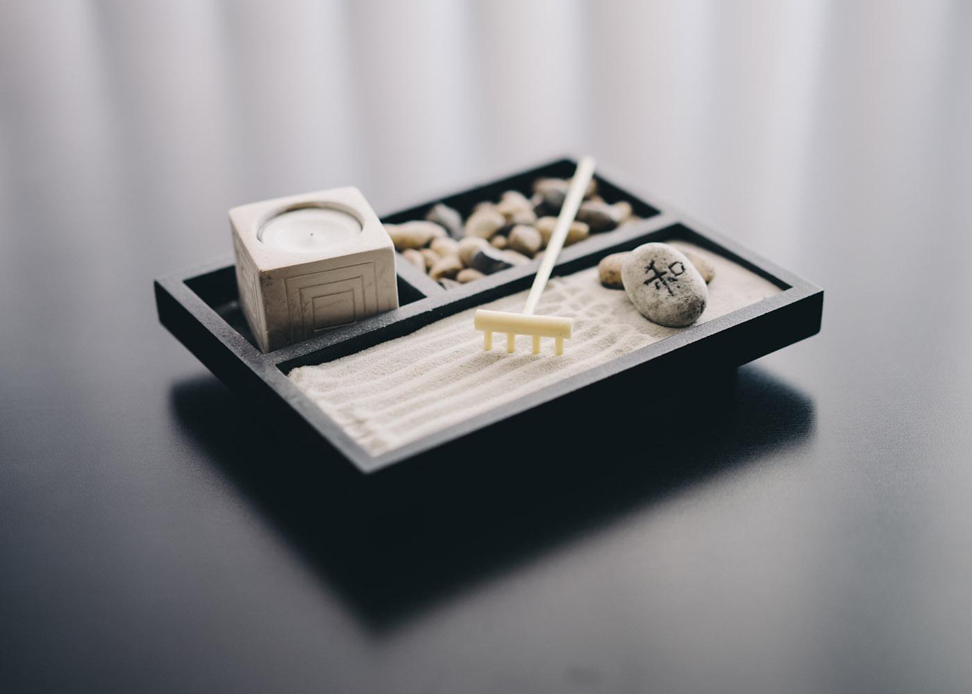 criar jardim zen