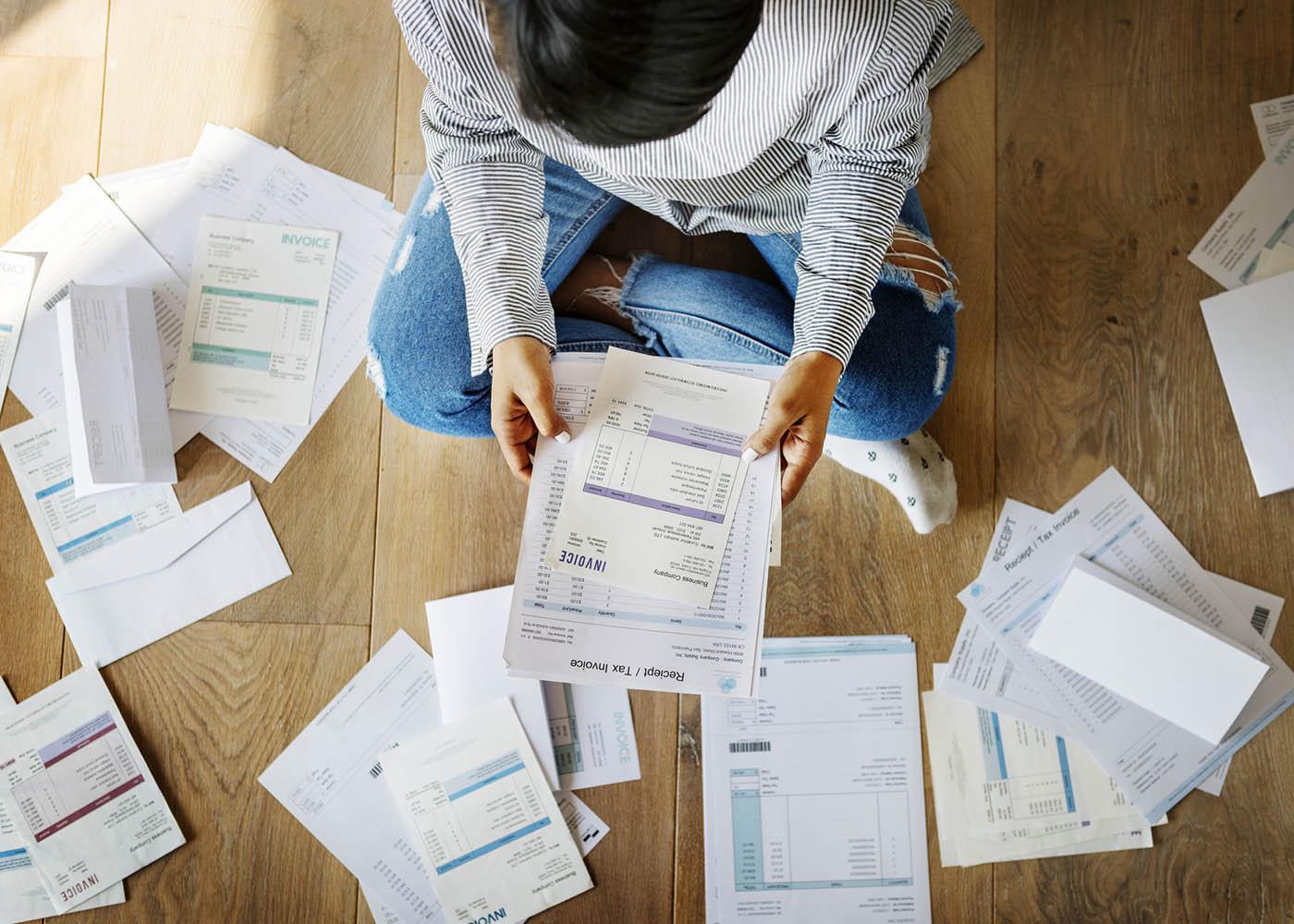 dívidas pagamentos atrasados