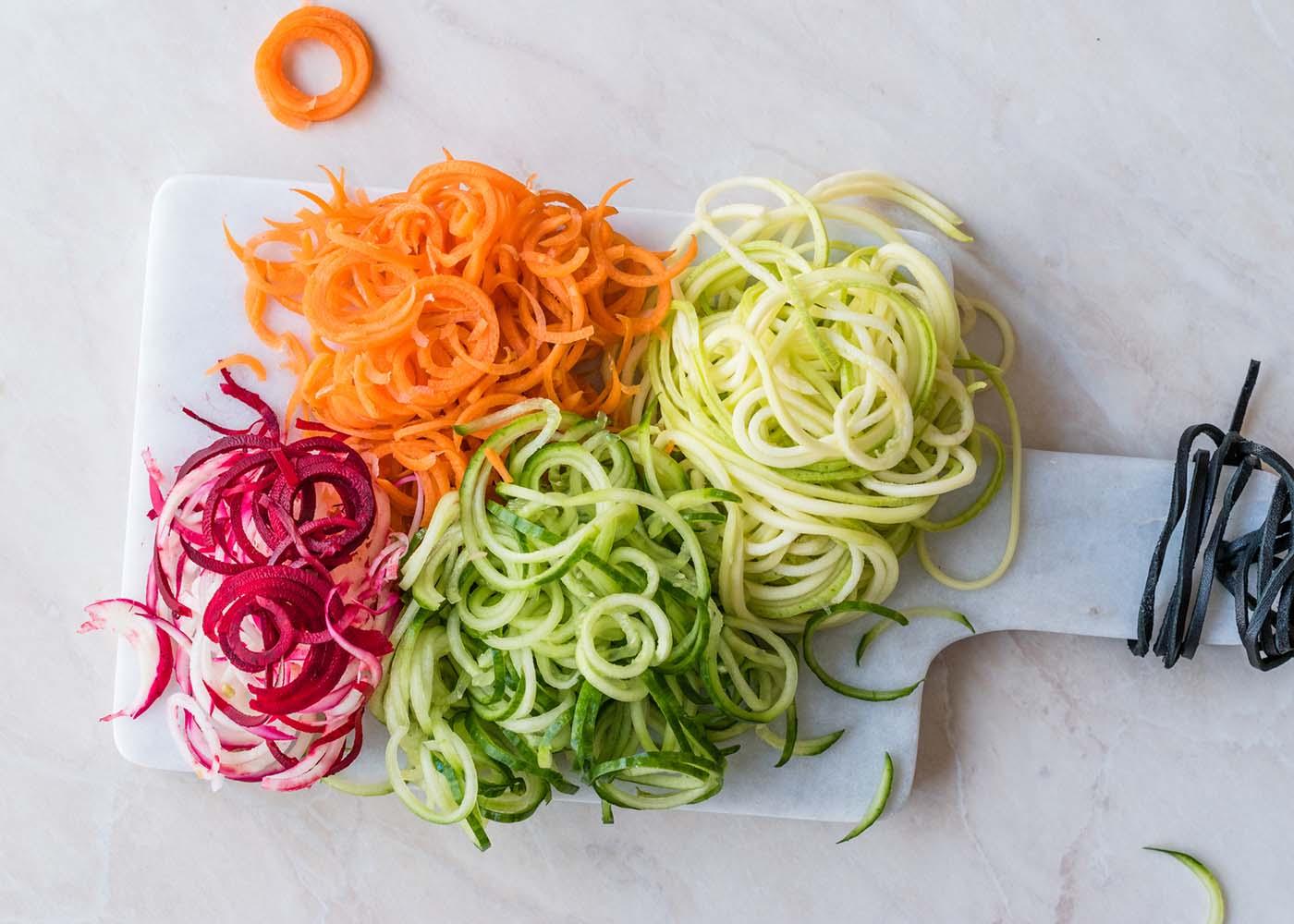 Esparguete de legumes